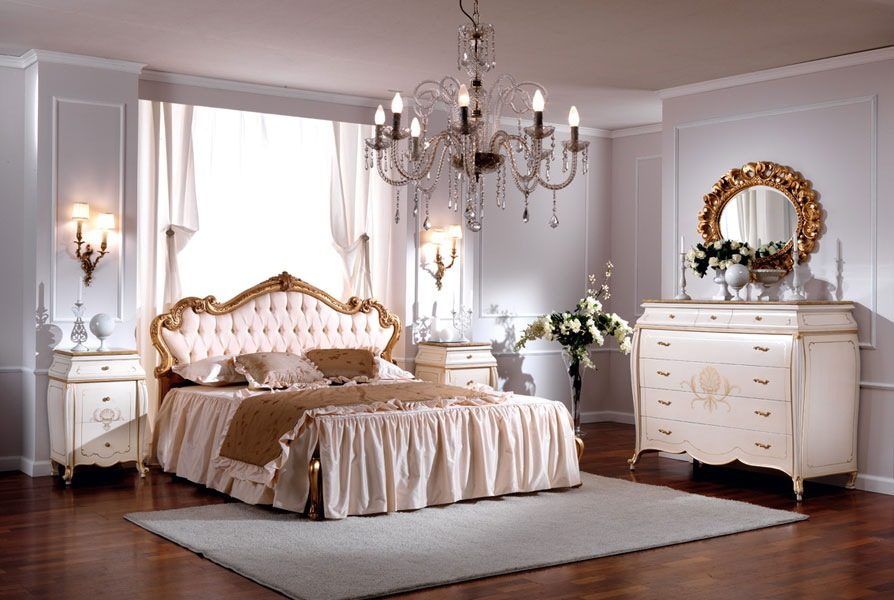 Camas para dormitorios cl sicos - Camas estilo romantico ...