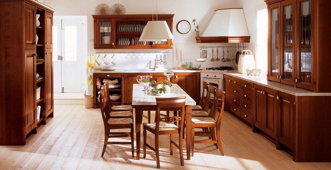 Decoraci n cl sica atemporal - Cocinas clasicas elegantes ...