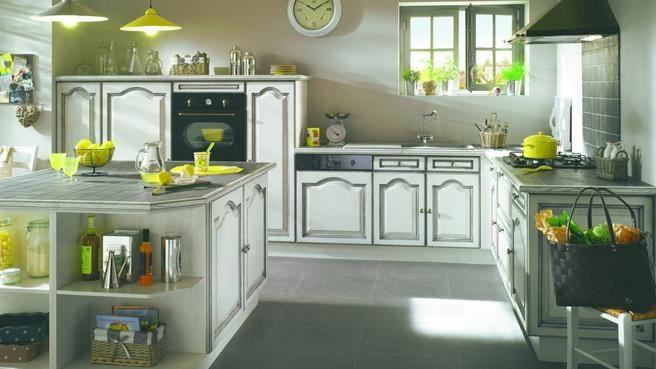 Cocina Clasica Con Color Imagenes Y Fotos - Cocina-clsica