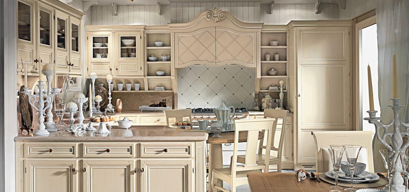 Galer a de im genes decoraci n de cocinas cl sicas for Muebles de cocina rusticos fotos