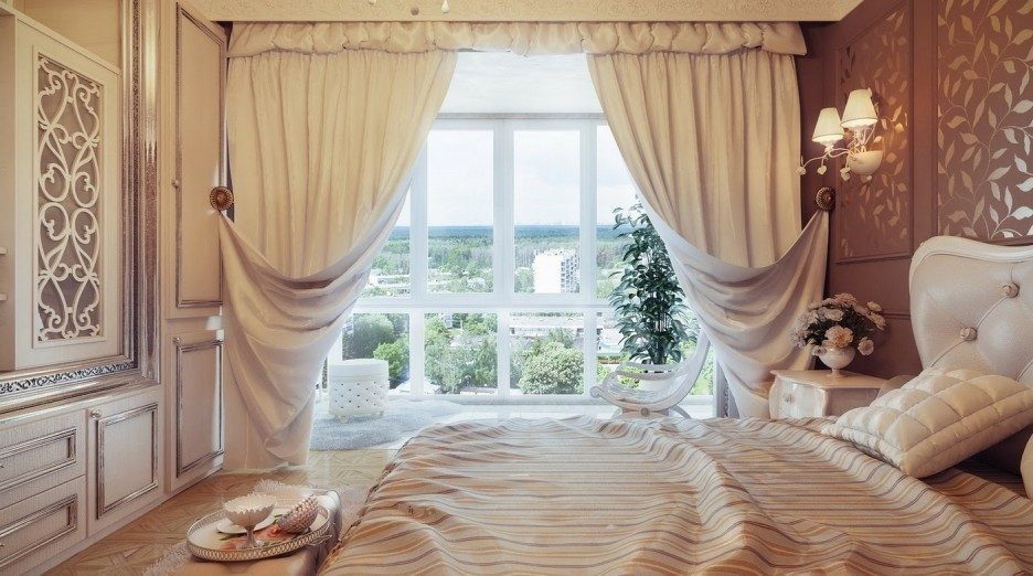 Galer a de im genes decoraci n de habitaciones cl sicas for Master arredamento interni