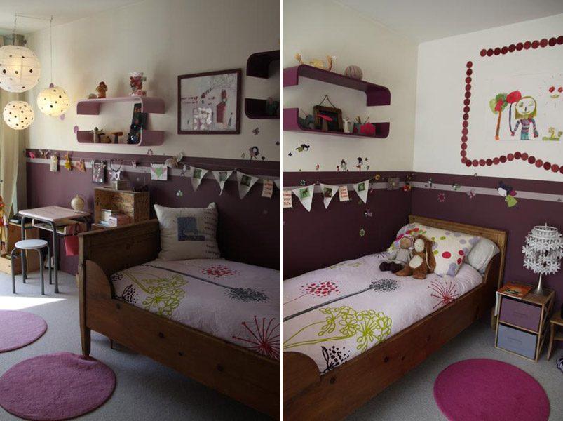Decoraci n de habitaciones infantiles cl sicas - Paredes habitaciones infantiles ...