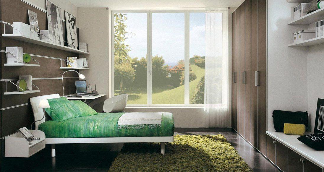 Dormitorio en tonos grises: paleta de colores para el dormitorio ...