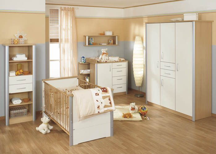Decoraci n de habitaciones de beb s cl sicas - Colores habitacion bebe ...
