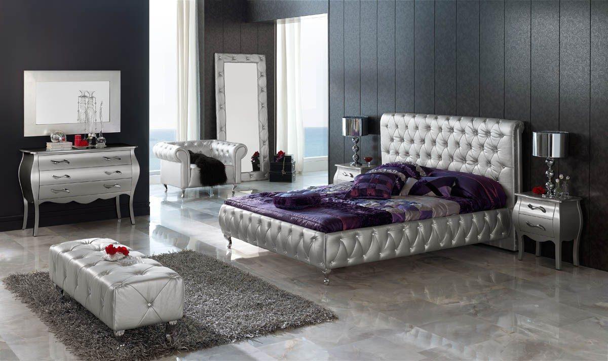 Galer a de im genes decoraci n cl sica moderna for Como modernizar un dormitorio clasico