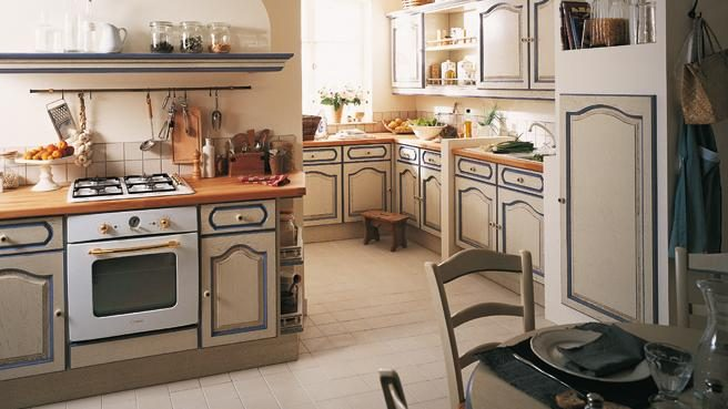 Decoraci n de cocinas cl sicas for Muebles de cocina clasicos