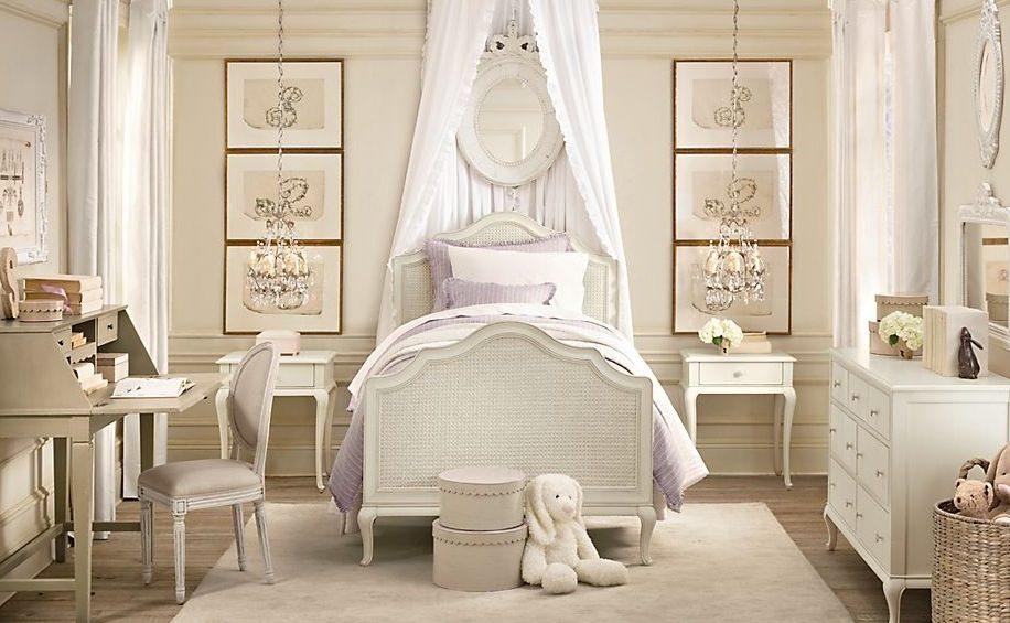 Galer a de im genes decoraci n cl sica vintage - Dormitorios infantiles vintage ...