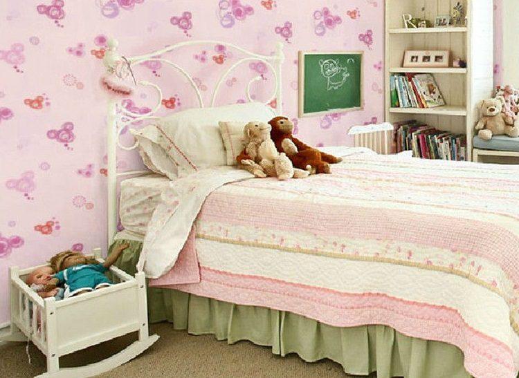 Galer a de im genes decoraci n de habitaciones infantiles - Papel pintado habitaciones ...
