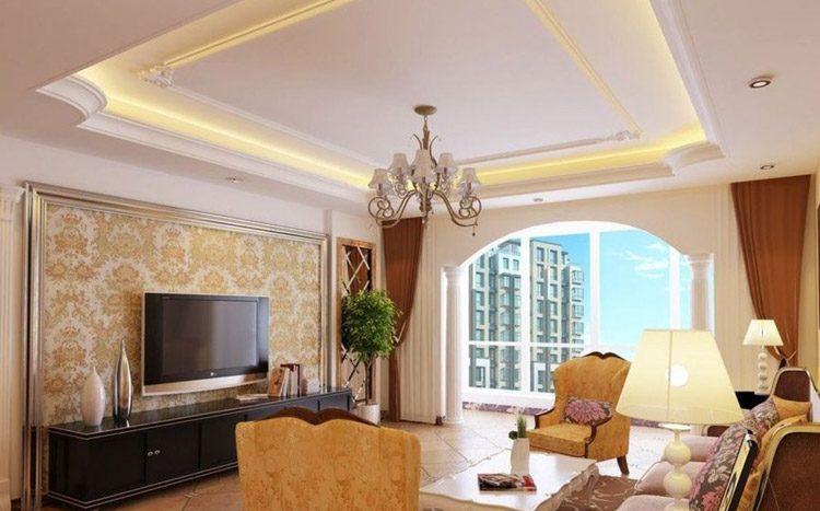 Ideas para las paredes de un espacio cl sico - Molduras decorativas pared ...