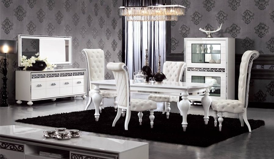 Decoraci n cl sica moderna for Muebles salon clasico moderno