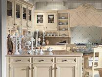 Cocina clásica de muebles blancos :: Imágenes y fotos