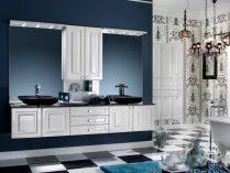 Decoración de cuartos de baño clásicos