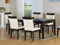 Mesa y sillas de comedor clásicas atemporales :: Imágenes y fotos
